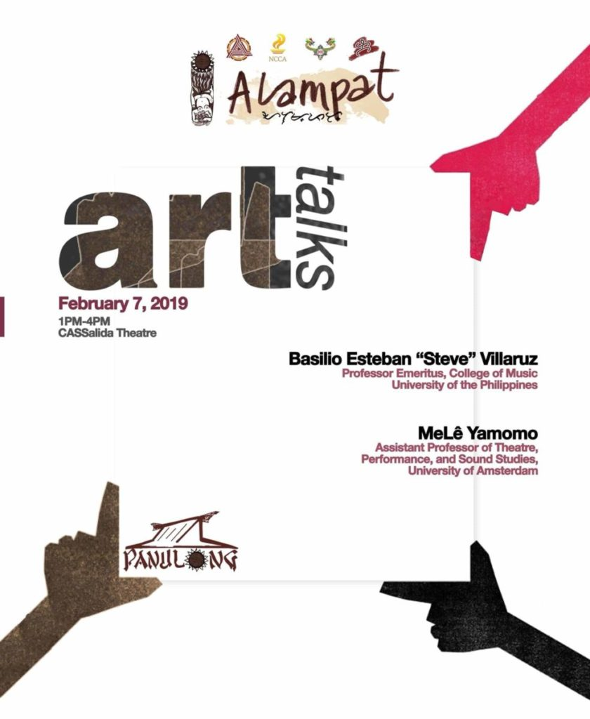 """Alampat"" Art Talk Series"
