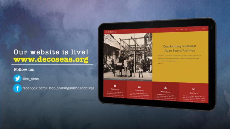 The DeCoSEAS website is now live!