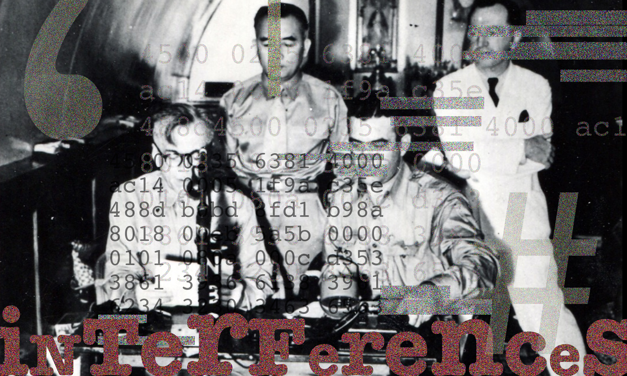 »Interferences Live« at the Museum for Communication-Berlin